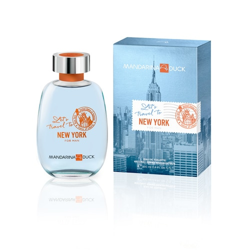LET'S TRAVEL TO NY MAN EDT 100 ML EDT