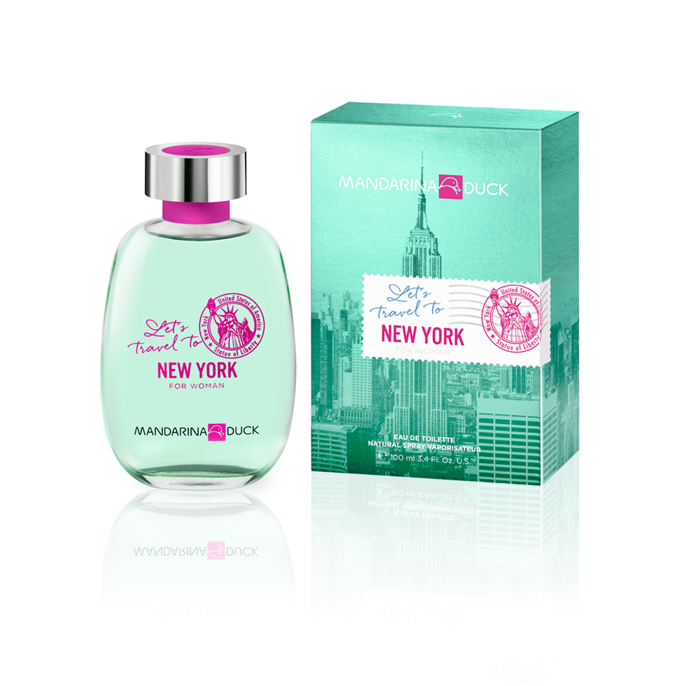 LET'S TRAVEL TO NY WOM EDT 100 ML EDT
