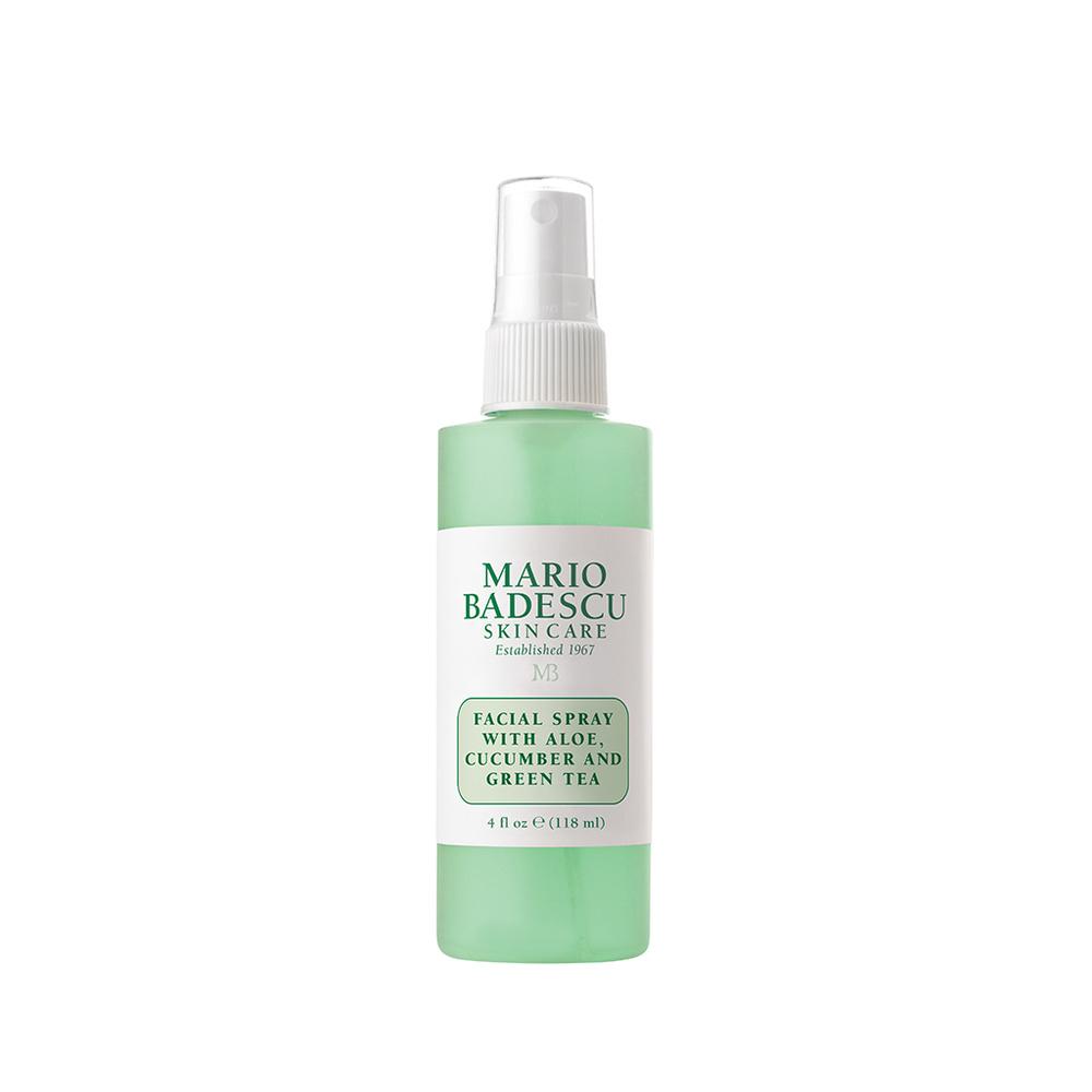 Spray visage à l'aloe vera, concombre et thé vert Spray visage