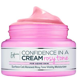 Confidence in a Cream Rosy ToneCrème Hydratante Vitalité Teint Rosé Rénovateur de Peau