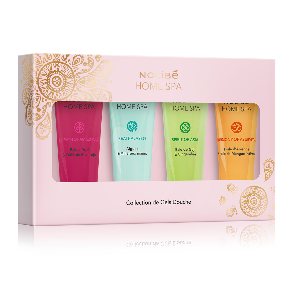 Nocibe Home Spa Collection De Gels Douche Coffret Decouverte De