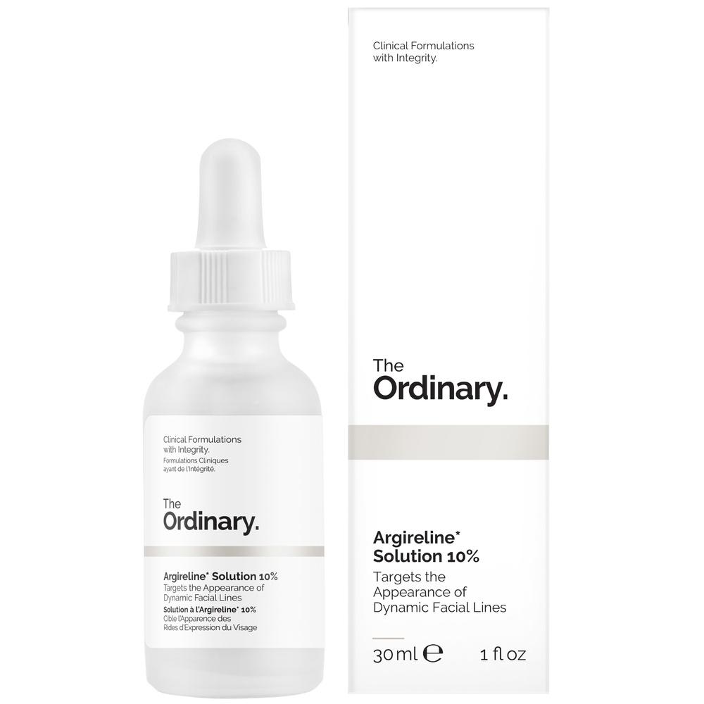 The Ordinary Solution à l'Argireline* 10% Sérum à base de Peptides Flacon 30ml
