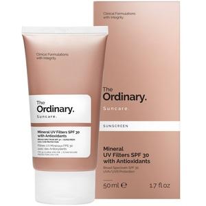 Filtres UV Minéraux SPF 30 avec des Antioxydants Ecran Solaire