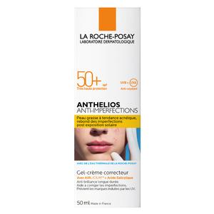 ANTHELIOS ANTI IMPERFECTIONS Gel Crème Sans parfum SPF50+