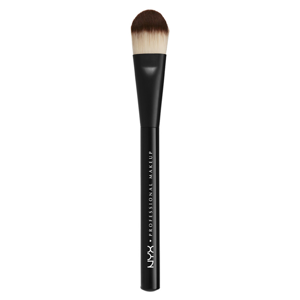 NYX Professional Makeup Pinceaux Pinceau Fond de Teint Plat Pro Pinceau Fond de Teint Plat Pro