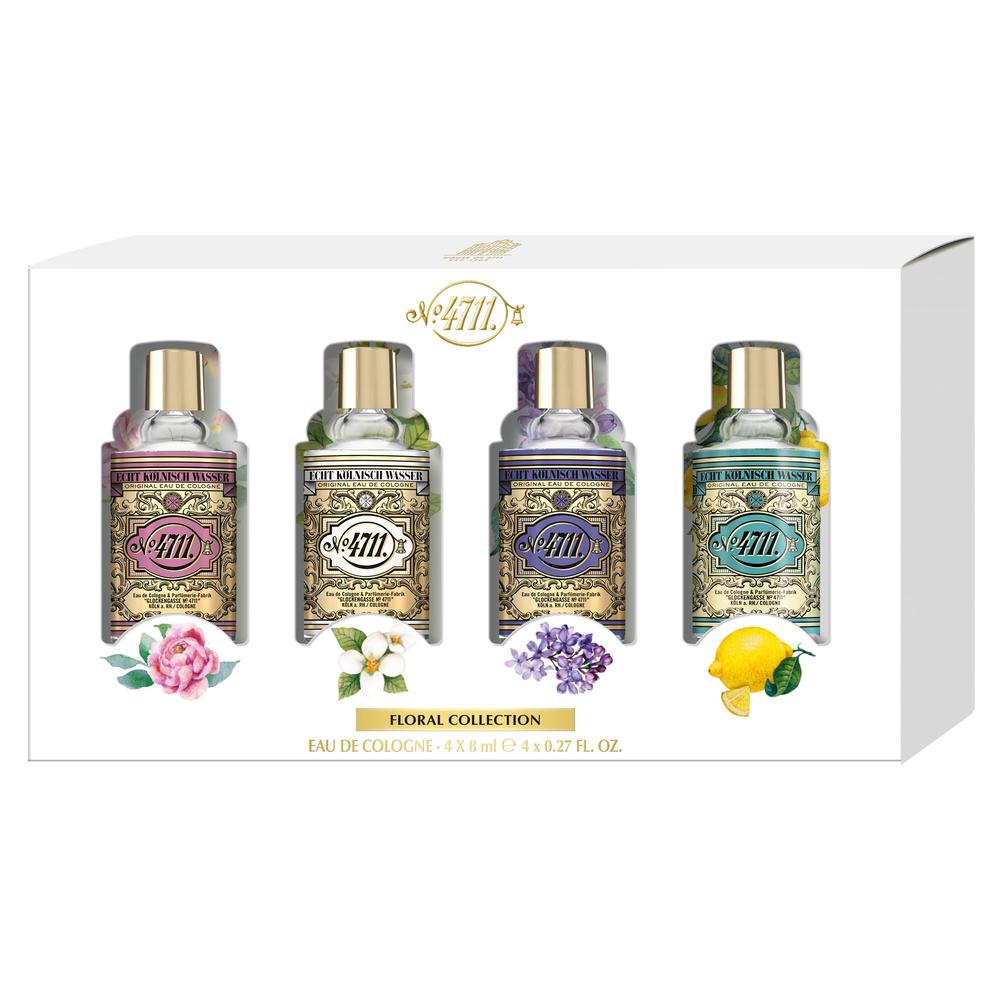 4711 Floral Collection Coffret Miniatures 4 x 8ml
