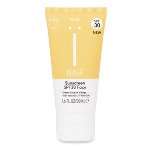 Natural Sunscreen Face SPF30  - NEW! Avril 2020 Crème Solaire naturelle Visage SPF30