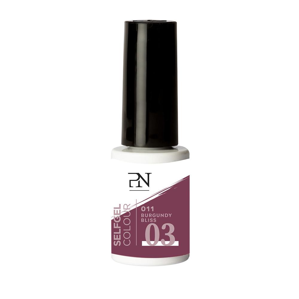 Selfgel n11 burgundy bliss couleur semi-permanent