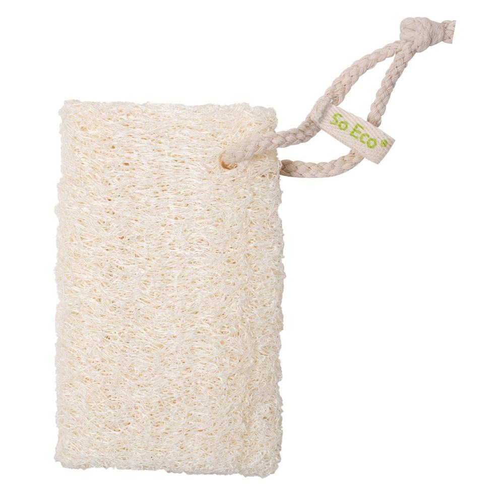 Éponge en loofah accessoire bain
