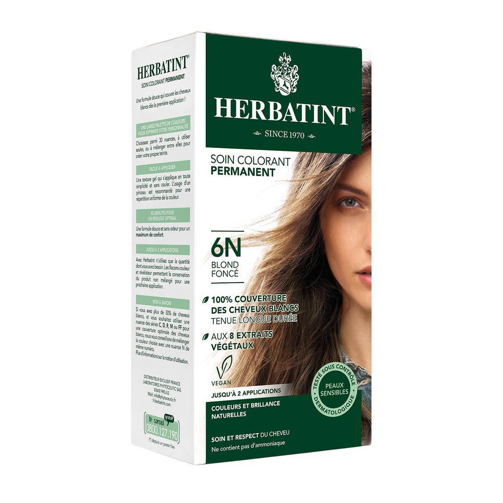 Herbatint coloration permanente 6n blond foncÉ
