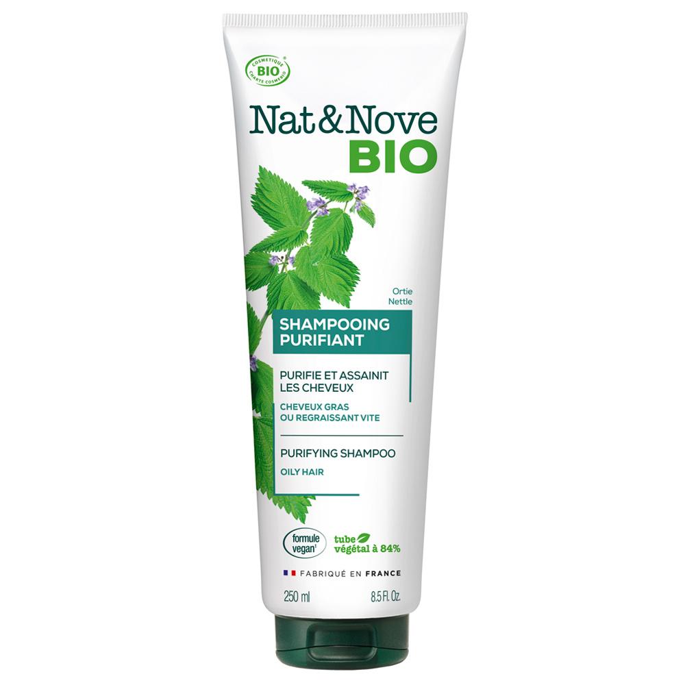 Nat&Nove Bio Shampoing NAT&NOVE BIO SHAMPOOING PURIFIANT CERTIFIÉ BIO 250mL