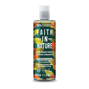 Faith In Nature - Travel Shampoing Pamplemousse Orange - 100ml NLFR Shampoing